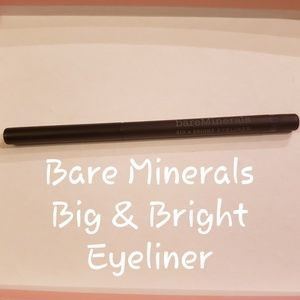🆕️ Bare Minerals Big & Bright Eyeliner in Ink
